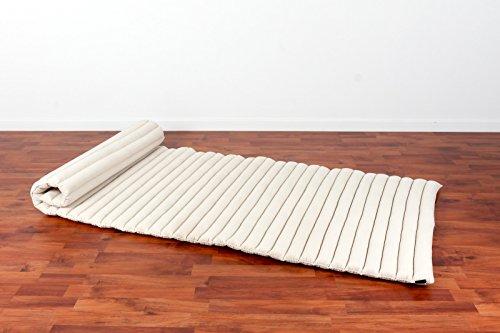 Leewadee Roll Up Thai Mattress Guest Bed Yoga Floor Mat