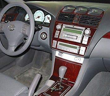 Toyota SOLARA INTERIOR BURL WOOD DASH TRIM KIT SET 2004 2005 2006 2007 2008