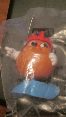 Playskool Helmet (Wendy's Kids Meal Playskool Potato Head Kids - Red Helmet, Blue Shoes - 1987)