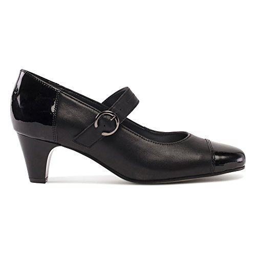 Padders Damen Jean Pumps Black Combi