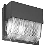 Lithonia Lighting TWH 250M TB SCWA LPI Metal Halide Wall Pack, Bronze