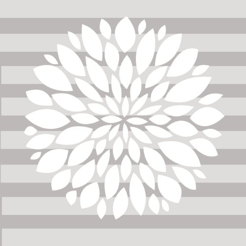 Sweet Potato Wall Decal, White Flower