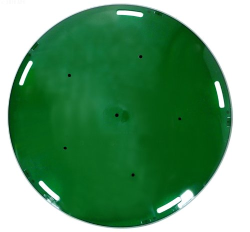 Pentair 78883703 Green Kwik Change Lens Cover Replacement AquaLumin Pool and Spa Light - Kwik Change Lens