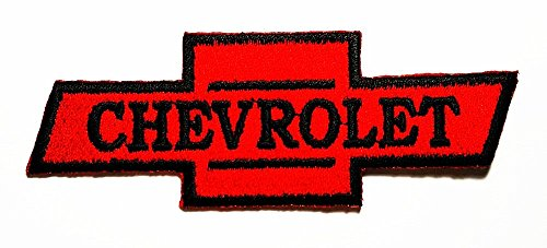 Chevrolet Motors Cars Racing Patch Embroidered Iron on Hat Jacket Hoodie Backpack Ideal for Gift/ 10.5cm(w) X 3cm(h)