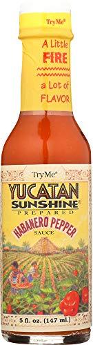 TryMe (NOT A CASE) Yucatan Sunshine Habanero Pepper Sauce