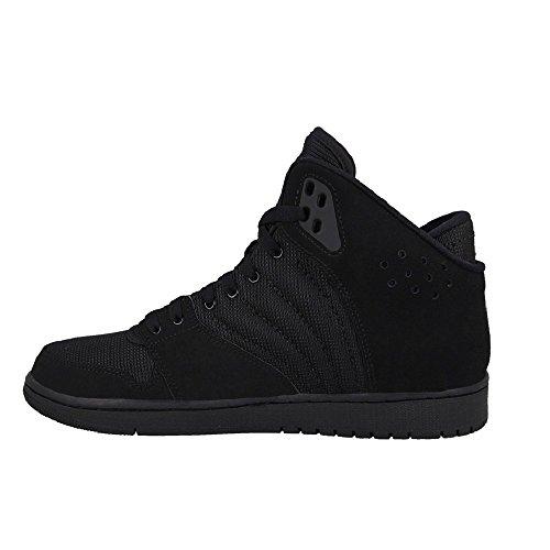 Nike Jordan 1 Flight 4, Zapatillas de Deporte para Hombre Negro (Black / Black-Black)