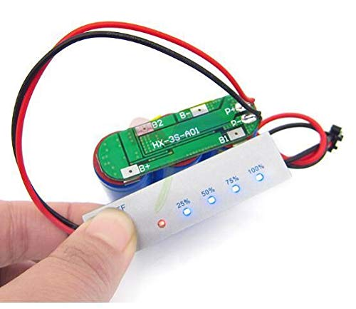 4S 14.4V BMS Li-ion Lithium Battery Capacity Indicator Display Power Level Tester PCB Module 18650 LCD Charge Discharge