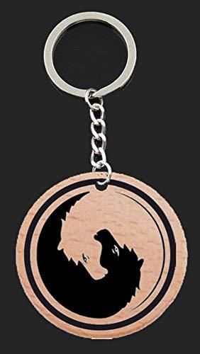 Llavero yin yang caballos: Amazon.es: Handmade