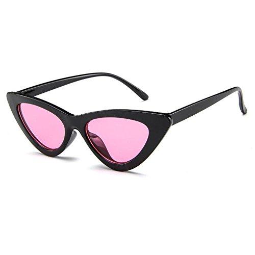 Vintage de Retro Kurt Cobain Style Eye Cat soleil Mod soleil Lunettes Hzjundasi black Lunettes pink de aS4w8q5xXn