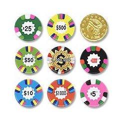 Premium chocolate casino poker chips foxxwoodscasino