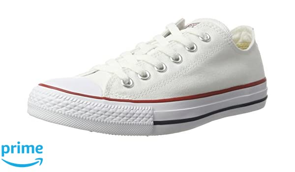 Converse Men's All Star Lean Ox Canvas Lace Up Trainer White