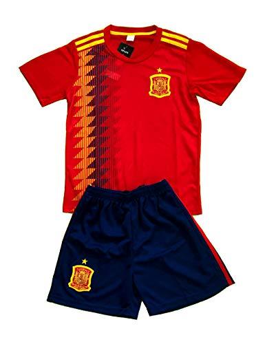 Spain-España- Soccer Team Kids- Boys Uniform (Jersey and Short) .New (Size 14)