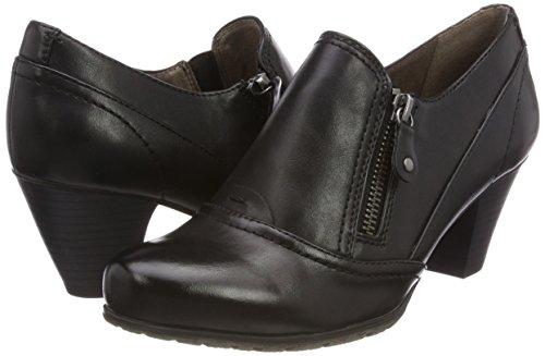 Softline 24460 Noir black Mocassins Femme nwx0RYfq