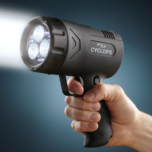 Orvis Rechargeable Handheld Spotlight, (1 Million Candlepower Rechargeable Spotlight)