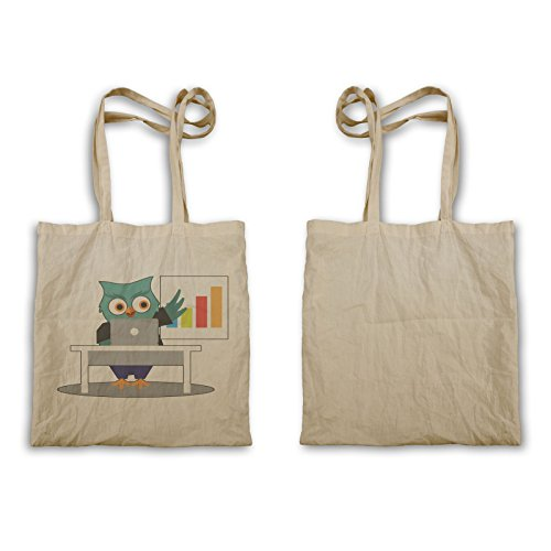 Funny Tote Business Owl Business bag Man Owl o657r 8TIZqv