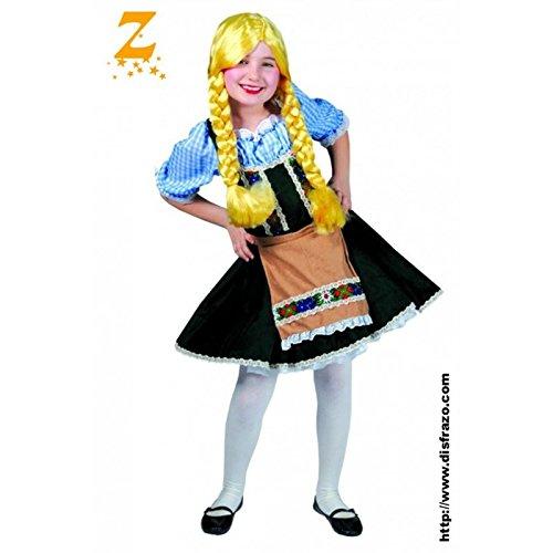 Disfraz Tirolesa Infantil T.104: Amazon.es: Ropa y accesorios
