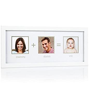 Pearhead Mommy + Daddy = Me Frame, White: Amazon.ca: Baby