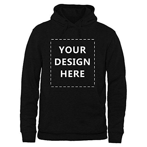 Generic Men's Add Photo or Text Sweatshirt Printed Customize Hoodies