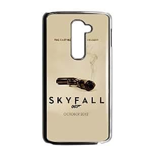 LG G2 Phone Case for Classic Theme Skyfall 007 pattern design GJBDSFL00794152