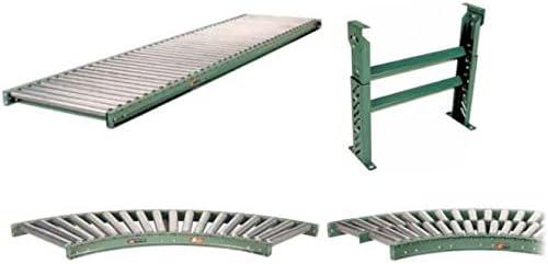 : 24 In Between Frame Roller Center: 4.5 In In : 21 In In Mdrc-21-4.5-10 Roach Conveyor 10 Ft Conveyor With 4 1//2 In Roller Centers 196G-21-4.5-H10 Length: 10 Ft Oa Width