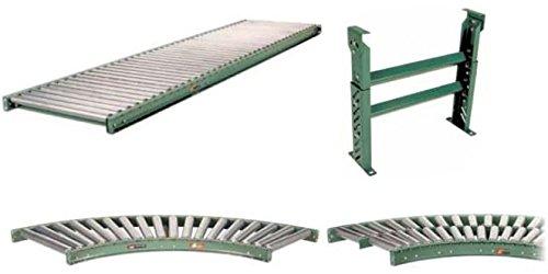 In : 13 In Length: 10 Ft In Oa Width Roller Center: 9 In Between Frame 10 Ft Conveyor With 9 In Roller Centers Mdrc-13-9-10 Roach Conveyor 196G-13-9-H10 : 16 In