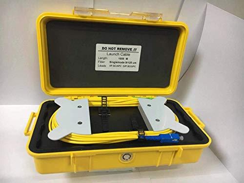 (Fiber Optic OTDR Launch Cable Box 1000m Singlemode SC-APC Connector Dead Zone Eliminator Fiber )
