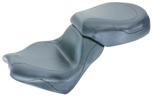 Mustang Vintage Sport Touring 2-Piece Seat for Kawasaki 2002-08 1500/1600 Mean - One Size (Sport Touring Kawasaki)