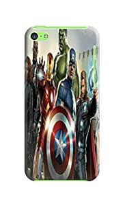 3 packs tpu rubber case combo campatible with fantastic iPhone5c of Avengers Captain America in Fashion E-Mall wangjiang maoyi
