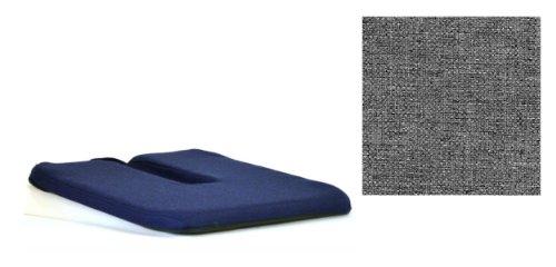 ZB McCartys Sacro Ease Coccyx Cutout Chair Seat Cushion Grey