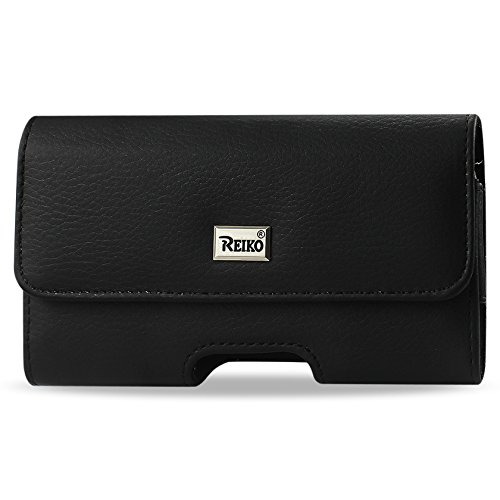 REIKO Leather Horizontal Carrying Pouch/Case for Samsung ...
