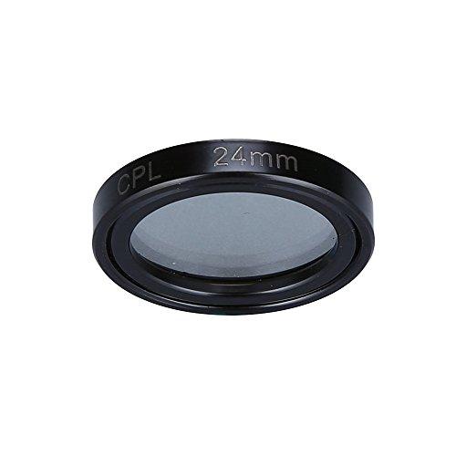 Blueskysea CPL Circular Polarizing Lens Clip Compatible Mini 0906 0806 GPS Car Dash cam 24mm