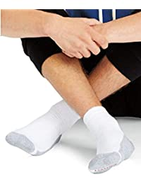 Mens X-Temp Comfort Cool Vent Crew Socks (Sock Size:...