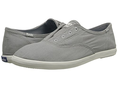 Keds Women's Chillax Washed Laceless Slip-On Sneaker,Drizzle