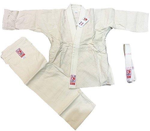 COR SPORT Traje de judo, Aikido Traje Talla 5/180 Beige con ...