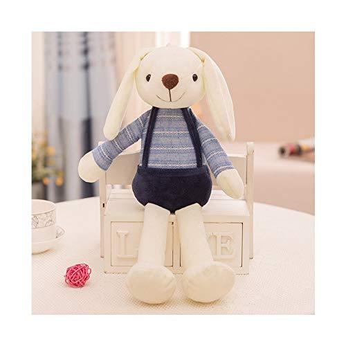 Flodance 40cm Cute Bunny Plush Rabbit Toy Soft Cloth Stuffed Rabbit Easter Gift Decor Baby Appease Toys for Children Kids Gift ()