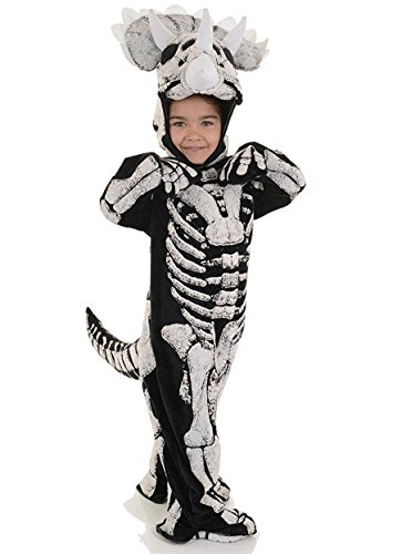 Dinosaur Triceratops Skeleton Child Costume