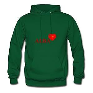 Jimrman Green X-large Custom Love Alba 3d 3000 Red Sweatshirts For Women