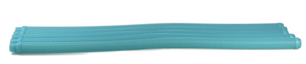 Fibropool Zodiac Baracuda G3 G4 or Kreepy Krauly Pool Vacuum Hose, 48'' L, 5 Piece, Aqua