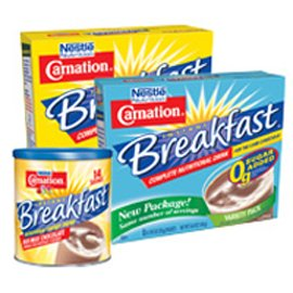 Nestle Carnation Instant Breakfast Variety Pack, 60/case by Nestle