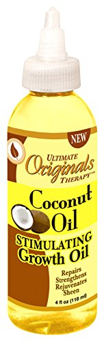Price comparison product image Ultimate Organic Coconut Oil Stimulating Growth Oil 4 oz (Pack of 2)