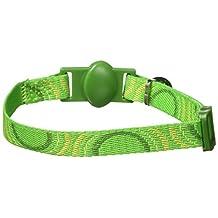 Petmate 320108 8-12-Inch Eco Friendly Breakaway Circle Cat Collar (Green)