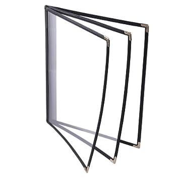 3 fold menu covers