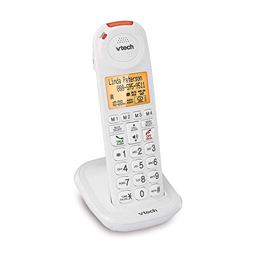 VTech SN5107 Amplified Accessory Handset with Big Buttons & Large Display for VTech SN5127 & SN5147 Senior Phone Systems