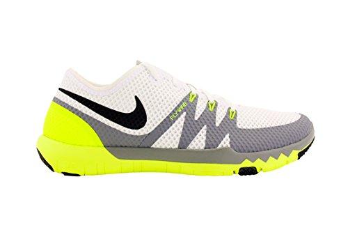 Nike Mens Free Trainer 3.0 V3 White/Cool Grey/Black 705270-100 Size 8.5