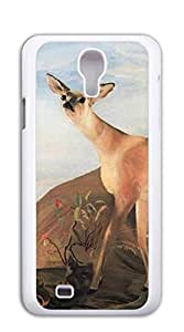 Cute Cartoon Back Cover case for samsung galaxy s4 for girls - Elk herds