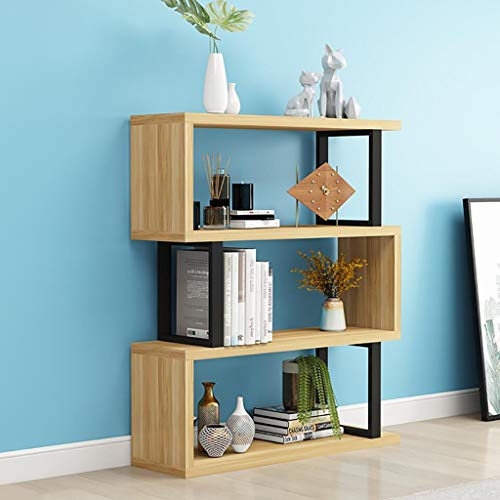 GWXJZ CD DVD Racks Living Room Partition Bookcase Shelf Modern Bookcase Free Combination Floor Display Stand Storage Rack (Color : 6030115cm)