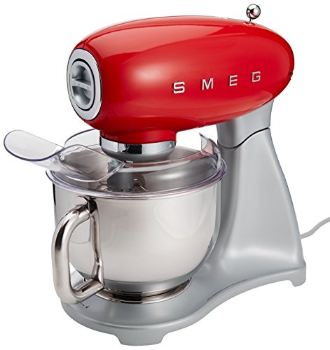 Smeg Stand Mixer Red (Large Image)