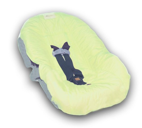 Nomie Baby Infant Car Seat Cover, Lime (Discontinued by Manufacturer) (Nomie Infant Car Seat Cover)