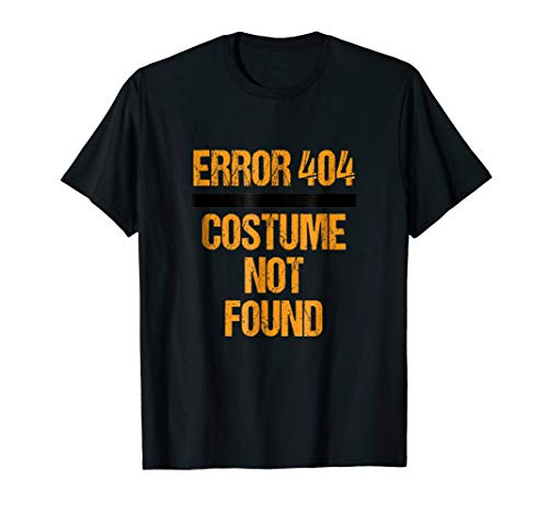 Error Nerd not found Halloween Shirt Easy Lazy