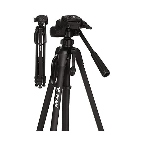 RetinaPix Prolite Tripod PL 810-HW (70 inch | Payload Upto 6 kg) | for DSLR, Video Camera, Mobile, GoPro